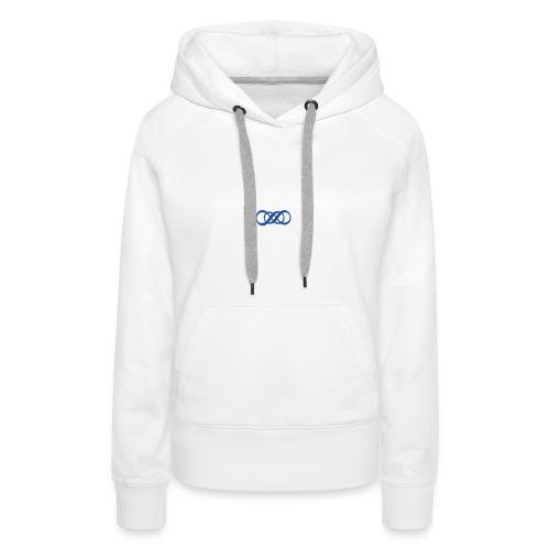 V - Sweat-shirt à capuche Premium pour femmes