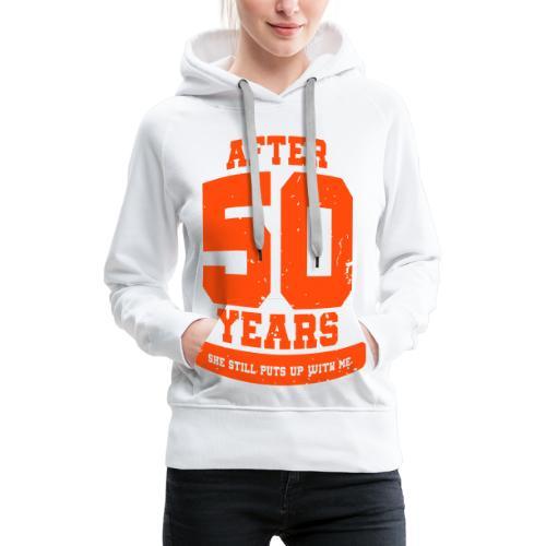 Ü50 Über 50 Jahre 50th - colorize - Frauen Premium Hoodie
