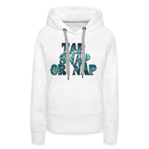 tap snapv2 - Women's Premium Hoodie