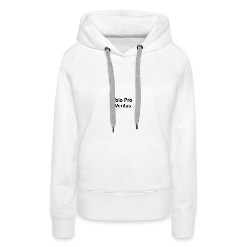 Volo Pro Veritas button 25mm - Vrouwen Premium hoodie
