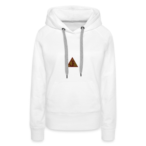 JF football type logo - Women's Premium Hoodie