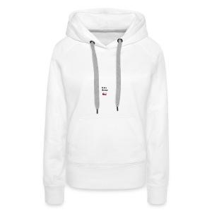 Gekke vlogger telefoon hoesje - Vrouwen Premium hoodie
