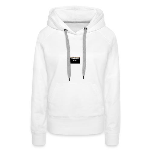 T-shirt staff Delanox - Sweat-shirt à capuche Premium pour femmes