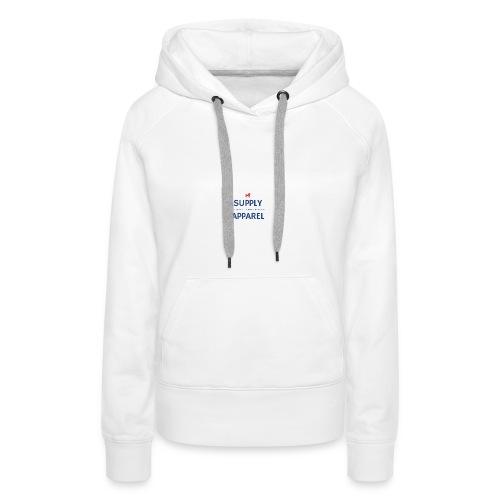 Plain EST logo design - Women's Premium Hoodie