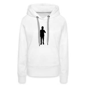 MEN IN BLACK - Frauen Premium Hoodie