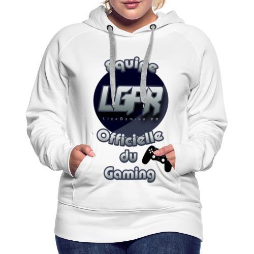 Equipe LGFR - Sweat-shirt à capuche Premium pour femmes