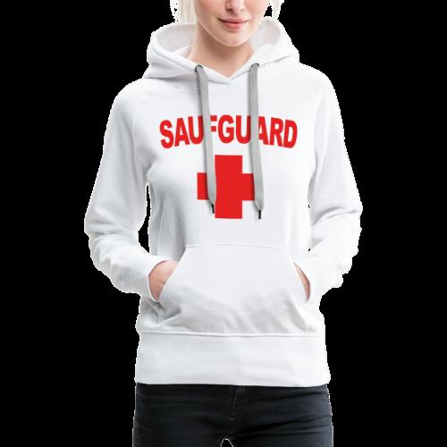 SaufGuard - Frauen Premium Hoodie