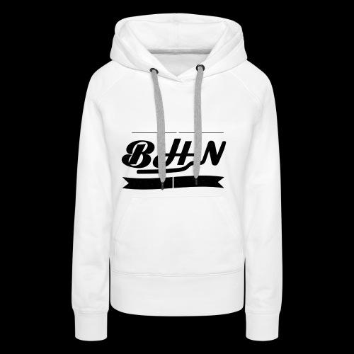 BHN - Sweat-shirt à capuche Premium pour femmes