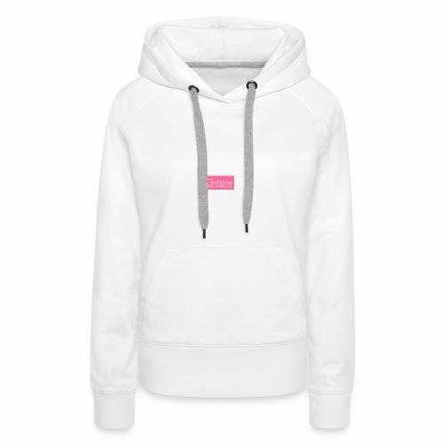 teelicious - Sweat-shirt à capuche Premium pour femmes