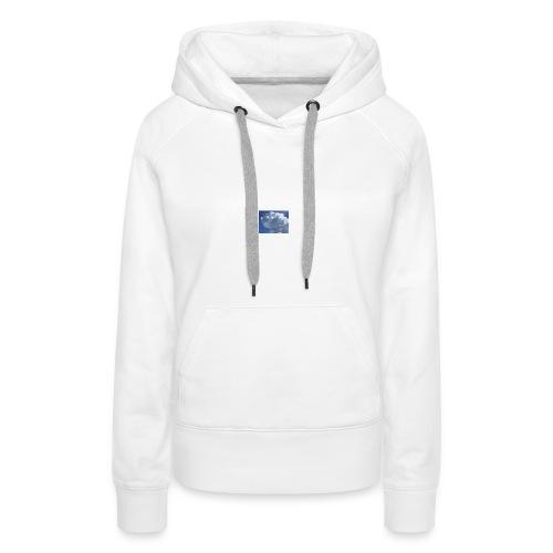 Krasse Wolke - Frauen Premium Hoodie