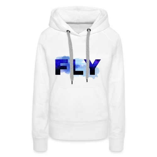 Paint Fly Design - Women's Premium Hoodie