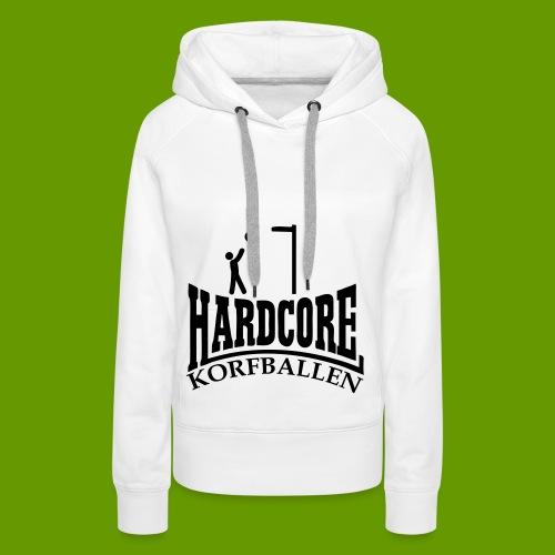 korfballen - Vrouwen Premium hoodie