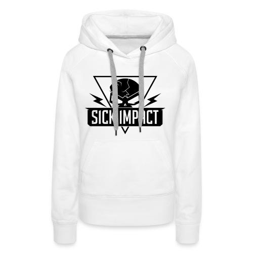Sick Impact White - Frauen Premium Hoodie