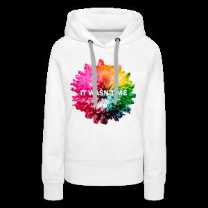 Flower Design - Frauen Premium Hoodie
