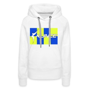 Kunce Clothing Original High Visibility Battenberg - Women's Premium Hoodie