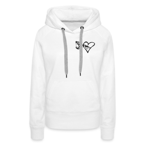 Trust - Sweat-shirt à capuche Premium pour femmes
