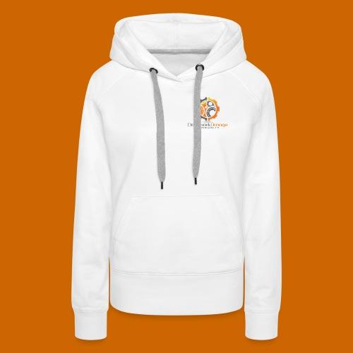 Clockwork-Orange Community Logo mit Schrift - Frauen Premium Hoodie