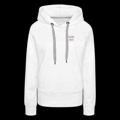 JetonPlays - Vrouwen Premium hoodie