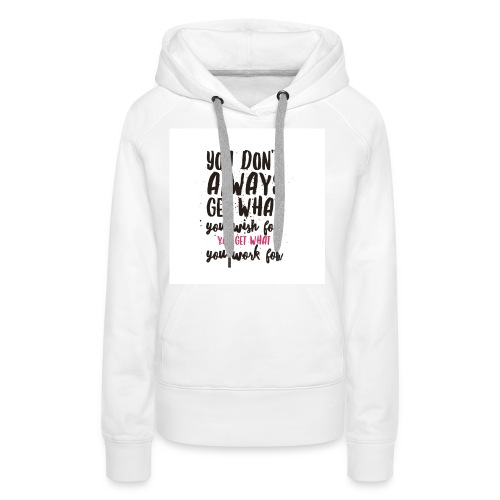 IMG 0107 Motivation - Frauen Premium Hoodie