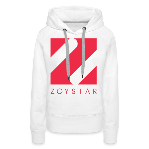 Zoysiar - Logo Collection | White - Frauen Premium Hoodie