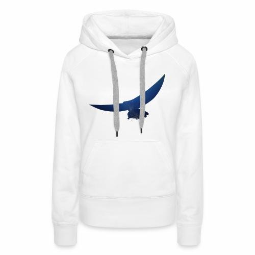 Abstrakter Adler - Frauen Premium Hoodie