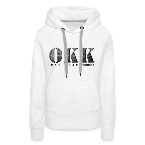 Ost Krad Kombinat Typografie - Frauen Premium Hoodie