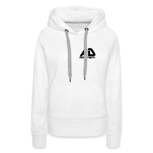 Alpha Dragons Retro - Frauen Premium Hoodie