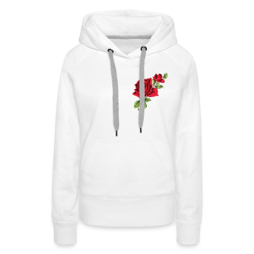 Red Roses - Vrouwen Premium hoodie