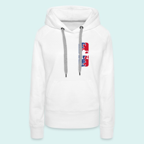 Gear Second League - Frauen Premium Hoodie