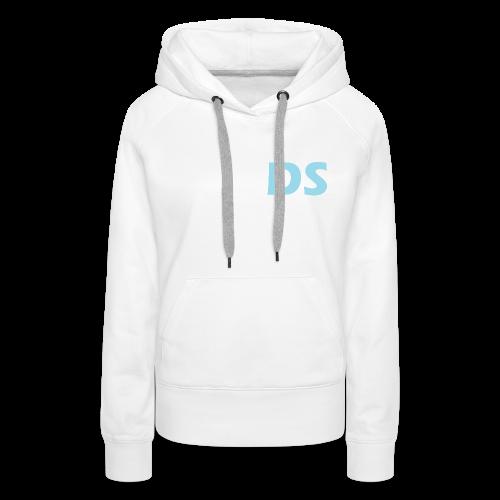 Drone Spotters logo blauw - Vrouwen Premium hoodie