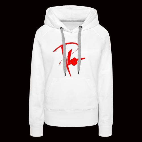 Plo Rotes Logo - Frauen Premium Hoodie