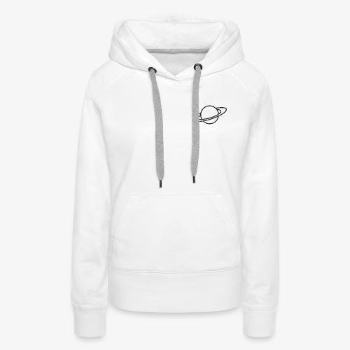 Planet - Sweat-shirt à capuche Premium pour femmes
