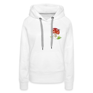 Mushroom - Symbols of Happiness - Women's Premium Hoodie