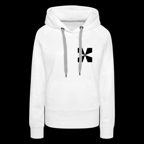 Croix d'Elixium - Sweat-shirt à capuche Premium pour femmes