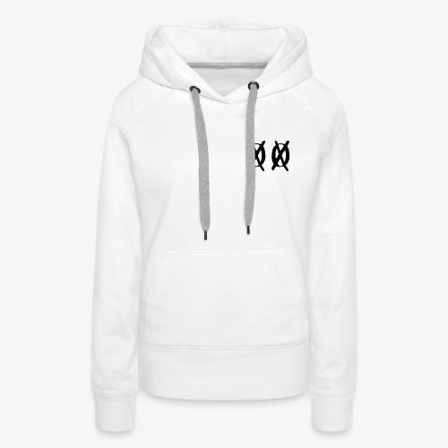White Edition - Sweat-shirt à capuche Premium pour femmes