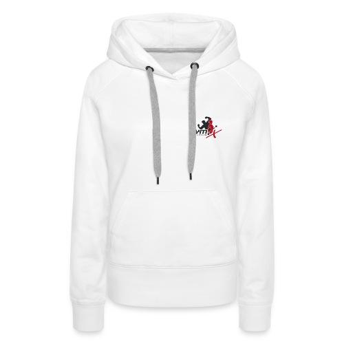 GYM-X.logo (für helle Kleidung) - Frauen Premium Hoodie