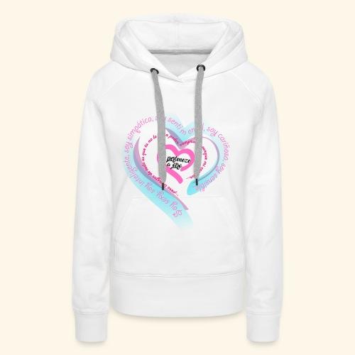 Corazón Ajeno - Sudadera con capucha premium para mujer