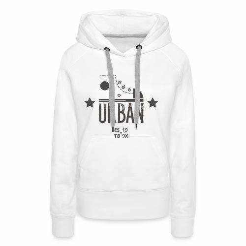 URBAN SNEAKER - Sportler Turnschuh Sport Shirt - Frauen Premium Hoodie