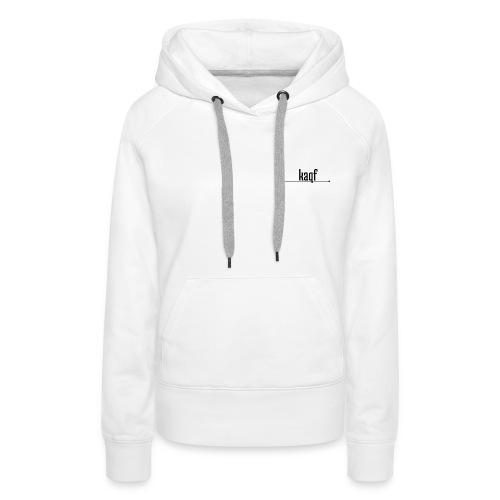 Weißer kaqf Mirch - Frauen Premium Hoodie