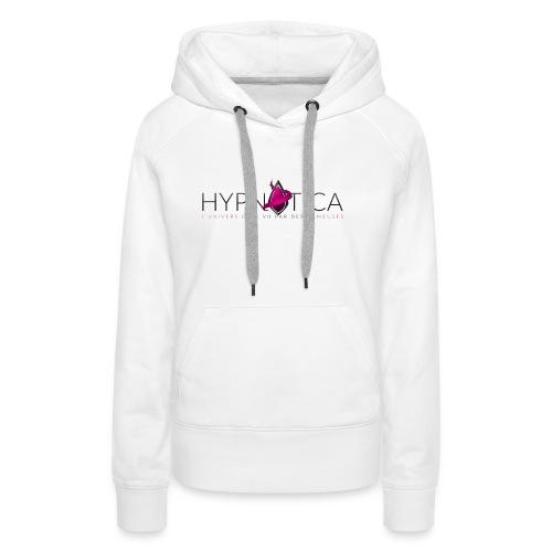 Logo Hypnotica - Sweat-shirt à capuche Premium pour femmes