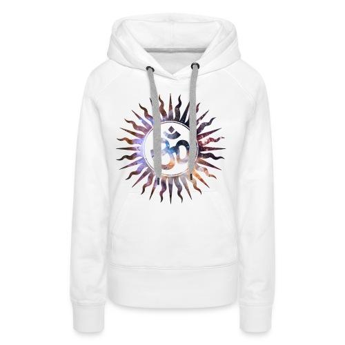 Om Mantra Symbol - Sudadera con capucha premium para mujer