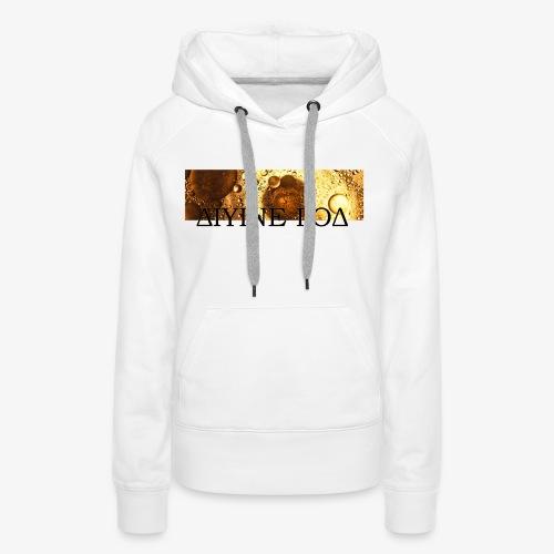 Be Funky Gold 1.0 ΔΙΥΙΝΕ ΓΟΔ - Vrouwen Premium hoodie