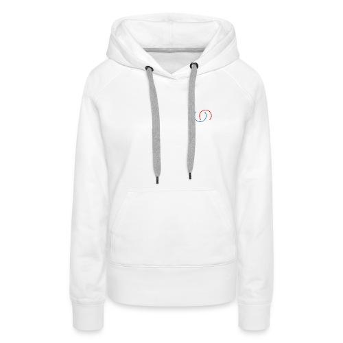4TIMES - Sweat-shirt à capuche Premium pour femmes