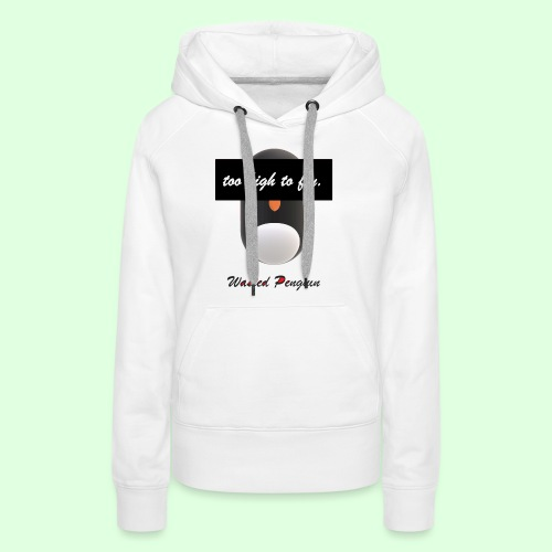 W. Penguin Pure Logo - Frauen Premium Hoodie