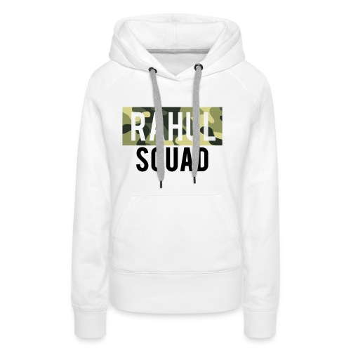 RahulSquad Official Camo T-Shirt - Women's Premium Hoodie