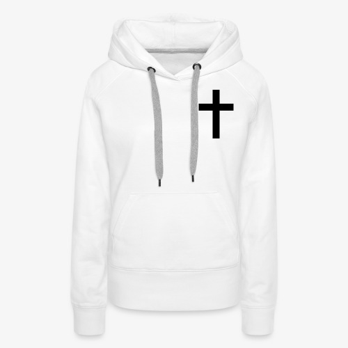 Christian cross - Women's Premium Hoodie