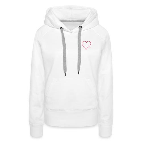 Herz 01 - Frauen Premium Hoodie