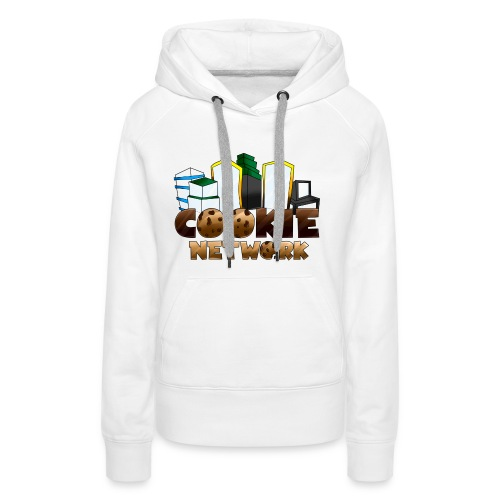 Cookienetwork logo - Vrouwen Premium hoodie