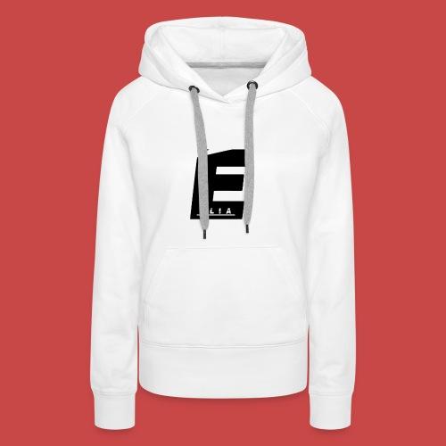 Elia Logo - Schwarz - Frauen Premium Hoodie