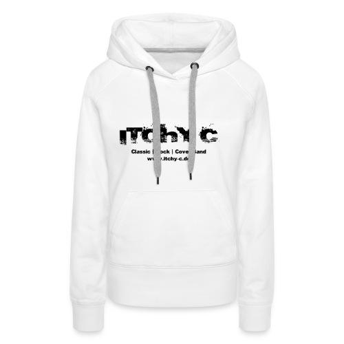 Itchy C Original schwarz - Frauen Premium Hoodie